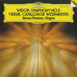ヴィエルヌ:ウェストミンスターの鐘,ヴィドール:オルガン交響曲5番Op.42−1