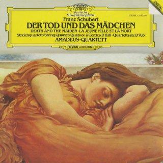 シューベルト:弦楽四重奏曲14番「死と乙女」,12番「四重奏断章」