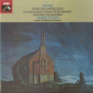 ブリテン:シンフォニア・ダ・レクイエム,4つの海の間奏曲,パッサカリア