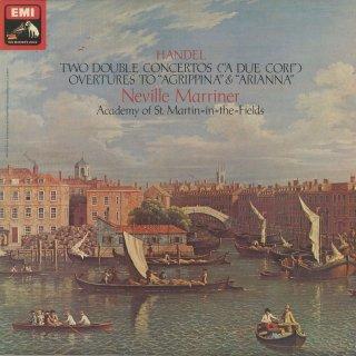 ヘンデル:二重協奏曲(2曲),序曲集/アグリッピナ,アリアンナ