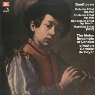 ベートーヴェン:八重奏曲Op.103,六重奏曲Op.81b,行進曲,ロンディーノ