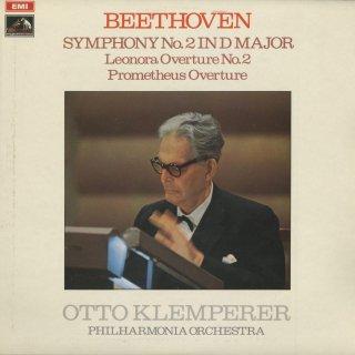 ベートーヴェン:交響曲2番Op.36,レオノーレ序曲Op.72,プロメテウス序曲Op.43