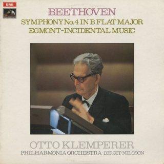ベートーヴェン:交響曲4番Op.60,エグモントOp.84より