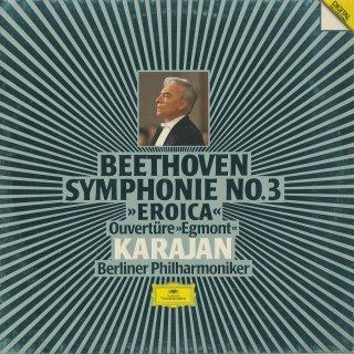 ベートーヴェン:交響曲3番Op.55「英雄」,エグモント序曲Op.84
