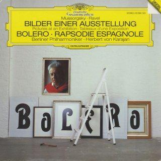 ラヴェル:ボレロ,スペイン狂詩曲,ムソルグスキー(ラヴェル編):展覧会の絵