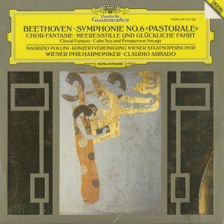 ベートーヴェン:交響曲6番Op.68「田園」,カンタータ「海の静けさと幸ある航海」Op.112,合唱幻想曲Op.80