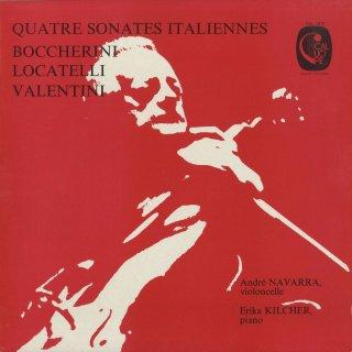 「イタリア・バロック・チェロ・ソナタ集」ロカテッリ,ボッケリーニ(2曲),ヴァレンティーニ