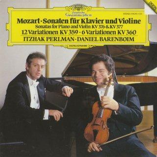 モーツァルト:ヴァイオリン・ソナタK.376,K.377,変奏曲K.359,K.360
