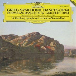 グリーグ:4つのノルウェー舞曲Op.35,抒情組曲Op.54,4つの交響的舞曲Op.64
