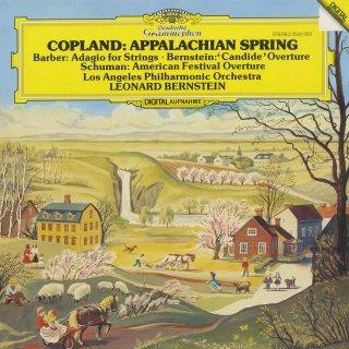 コープランド:アパラチアの春,W.シューマン:アメリカ祝祭序曲,バーバー:弦楽のためのアダージョ,バーンスタイン:「キャンディード」〜序曲