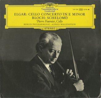 エルガー:チェロ協奏曲Op.85,ブロッホ:シェロモ
