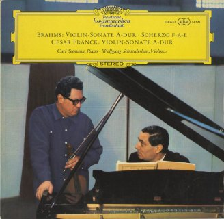 ヴァイオリン・ソナタ集/ブラームス:2番Op.100,スケルツォ,フランク