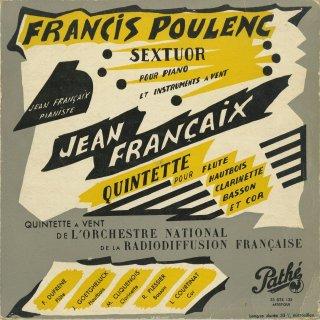 フランセ:五重奏曲,プーランク:六重奏曲