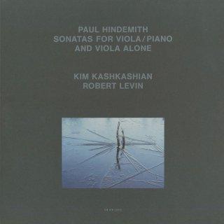 ヒンデミット:無伴奏ヴィオラ・ソナタ(全4曲),ヴィオラ・ソナタ(全3曲)