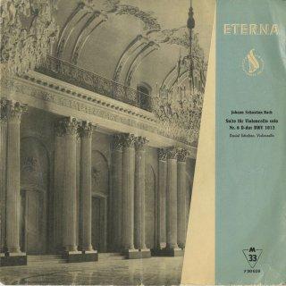 バッハ:無伴奏チェロ組曲6番BWV.1012