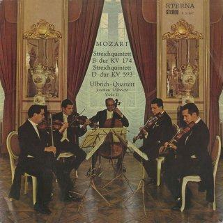 モーツァルト:弦楽五重奏曲1番K.174,5番K.593