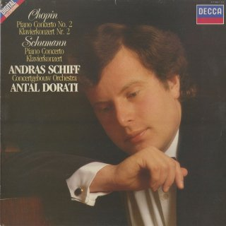 ショパン:ピアノ協奏曲2番Op.21,シューマン:ピアノ協奏曲Op.54
