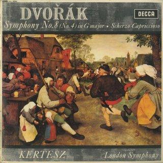 ドヴォルザーク:交響曲8番Op.88,スケルツォ・カプリッチョーソOp.66
