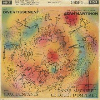 イベール:ディヴェルティメント,ビゼー:子供の遊び,サン・サーンス:死の舞踏Op.40,オンファールの糸車Op.31