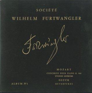 モーツァルト:ピアノ協奏曲20番K.466,グルック:「オーリードのイフィジェニー」序曲,「アルセスト」序曲