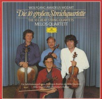 モーツァルト:弦楽四重奏曲14〜23番