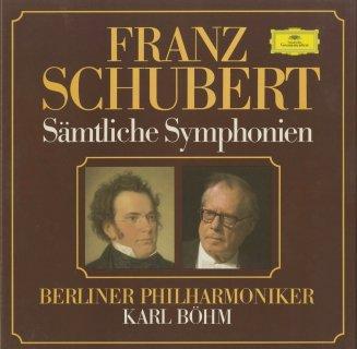 シューベルト:交響曲1〜6,8,9番,ロザムンデ〜序曲,バレエ音楽
