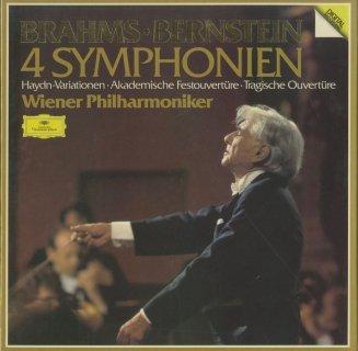 ブラームス:交響曲1〜4番,大学祝典序曲,悲劇的序曲,ハイドン変奏曲