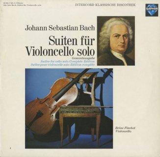 バッハ:6つの無伴奏チェロ組曲BWV.1007〜1012