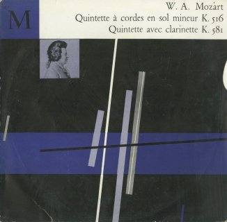 モーツァルト:弦楽五重奏曲4番K.516,クラリネット五重奏曲K.581