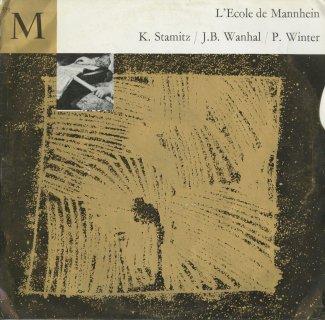 「マンハイム学派の音楽」/シュターミッツ:2ヴァイオリンの為の協奏交響曲,ヴァニュハル:交響曲イ短調,ヴィンター:Cl・チェロ協奏曲