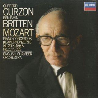 モーツァルト:ピアノ協奏曲20番K.466,27番K.595