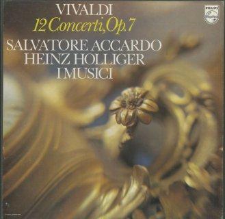ヴィヴァルディ:ヴァイオリン協奏曲集Op.7(全12曲)