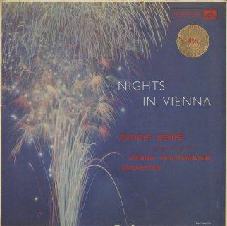 「ウィーンの夜」スッペ:序曲「ウィーンの朝、昼、晩」,J.シュトラウス:「こうもり」序曲,ラデツキー行進曲,レハール,ホイベルガー,レズニチェク 他