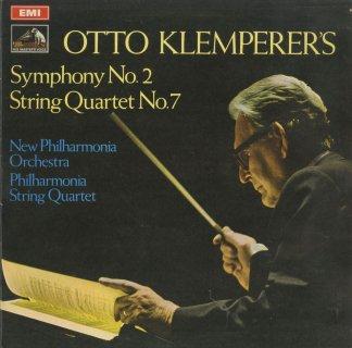 クレンペラー:交響曲2番,弦楽四重奏曲7番