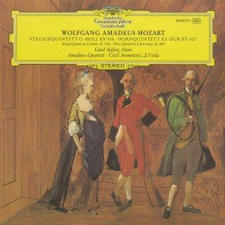 モーツァルト:弦楽五重奏曲4番K.516,ホルン五重奏曲K.407