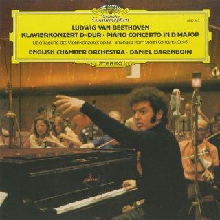 ベートーヴェン:ピアノ協奏曲(ヴァイオリン協奏曲Op.61の編曲)