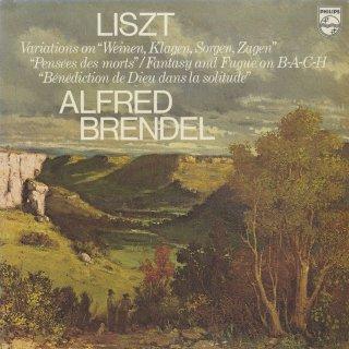 リスト:「詩的で宗教的な調べ」3,4番,バッハのカンタータによる変奏曲,他1曲