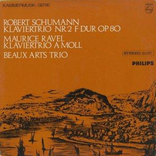 ピアノ・トリオ集/シューマン:2番Op.80,ラヴェル
