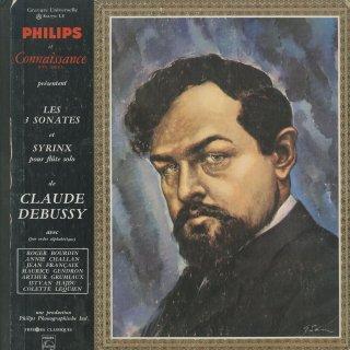 ドビュッシー:チェロ・ソナタ,フルート・ヴィオラとハープのためのソナタ,ヴァイオリン・ソナタ,パンの笛