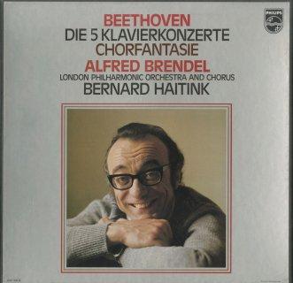 ベートーヴェン:ピアノ協奏曲全集(5曲),合唱幻想曲Op.80