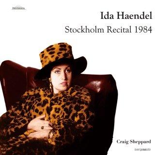 【新作LPレコード】イダ・ヘンデル ストックホルム・リサイタル1984<完全限定生産>WEITLP019/020 STEREO 2LP