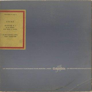 フォーレ:ピアノ四重奏曲1番Op.15