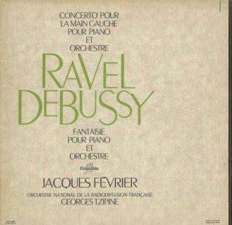 ラヴェル:左手のためのピアノ協奏曲,ドビュッシー:ピアノと管弦楽の幻想曲