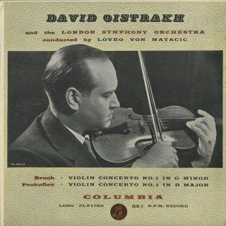 ヴァイオリン協奏曲集/ブルッフ:1番Op.26,プロコフィエフ:1番Op.19