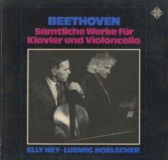 ベートーヴェン:チェロ・ソナタ全集(5曲),「魔笛」の主題による変奏曲Op.66,ヘンデル「ユダ・マカベア」の主題による変奏曲