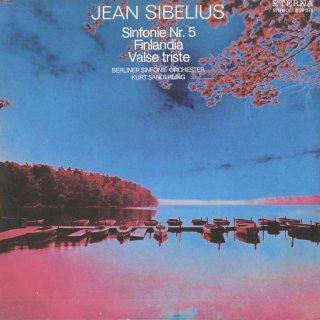 シベリウス:交響曲5番Op.82,悲しいワルツOp.44,フィンランディアOp.26