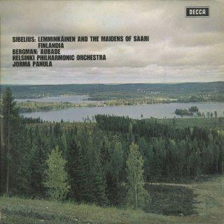 シベリウス:レンミンケイネンと島の乙女たちOp.22,交響詩「フィンランディア」Op.26,ベルクマン:オバドOp.48