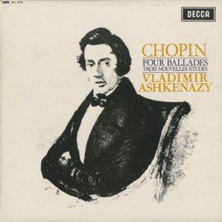 ショパン:4つのバラード,3つの新しい練習曲