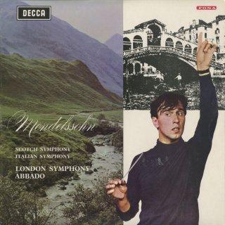 メンデルスゾーン:交響曲3番「スコットランド」Op.56,4番「イタリア」Op.90