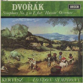 ドヴォルザーク:交響曲3番Op.10,序曲「フス党」Op.67